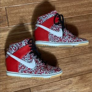 Nike Sky Hi Dunk Liberty of London Sneakers